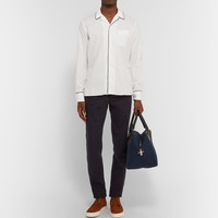 Officine Generale - Camp-Collar Piped Cotton Shirt