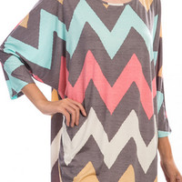 Plus Size Crazy Chevy Tunic (Pre-Order 12/7)