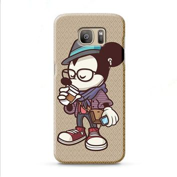 Mickey Mouse hipster coffee Samsung Galaxy J7 2015 | J7 2016 | J7 2017 case