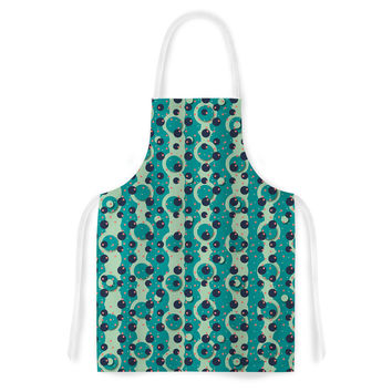 "Akwaflorell ""Bubbles Made of Paper"" Artistic Apron"