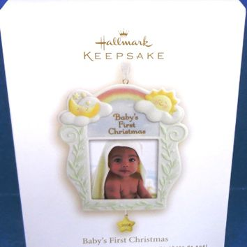 2008 Baby's First Christmas Hallmark Retired Ornament