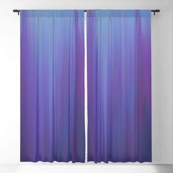 Violet Chromatic Blackout Curtain by duckyb