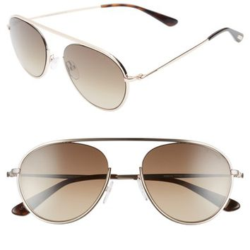 Tom Ford Keith 55mm Metal Aviator Sunglasses | Nordstrom