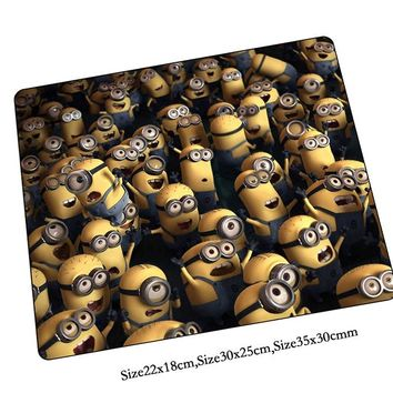 Minions mouse pad HD print mousepads best gaming mouse pad gamer padmouse High quality personalized mouse pads keyboard pad