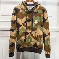 Nike Casual  Camouflage Print Hoodie Top Sweater Pants Trousers Set Adidas Two-piece Sportswear I-ZDL-STPFYF