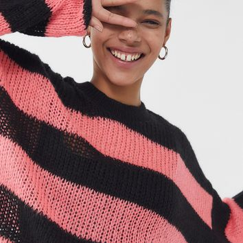 The Ragged Priest Striped Long Sleeve Sweater | Urban Outfitters
