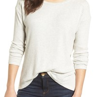 Velvet by Graham & Spencer Thermal Knit Top | Nordstrom