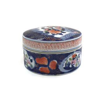 Rice Bowl, Chinese Stoneware, Lidded Dish, Ceramic Rice Bowl, Asian Lidded Dish, Chinese Bowl with Lid, Asian Decor, Chinoiserie