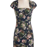 Flora-ffection Dress | Mod Retro Vintage Dresses | ModCloth.com