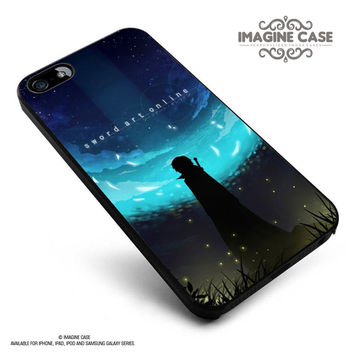 Sword Art Online Anime Cartoon case cover for iphone, ipod, ipad and galaxy series