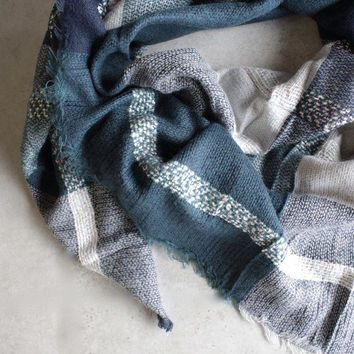 Oversize Plaid Blanket Scarf - More Colors