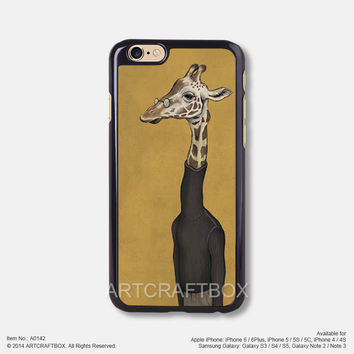 Giraffe with glasses Free Shipping iPhone 6 6Plus case iPhone 5s case iPhone 5C case 142