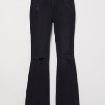 Flare High Jeans - from H&M