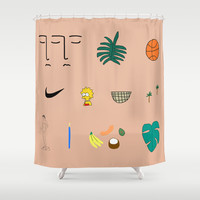 WWA Shower Curtain by BFGF | Society6