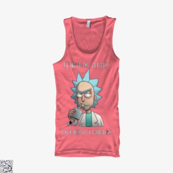 Rick I Drink And I Know Thing, Game of Thrones Tank Top