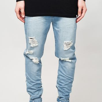 I Love Ugly - Zespy Pants (Distressed Denim)