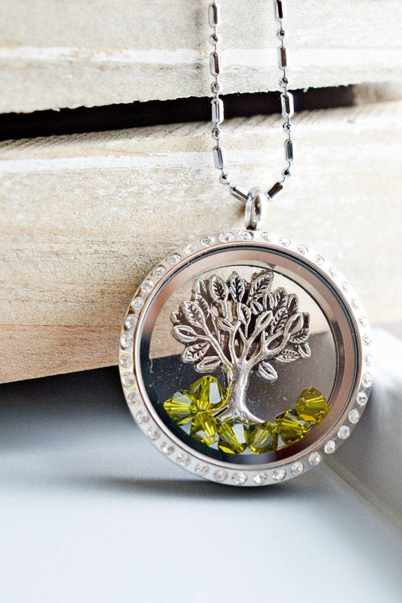 living locket memory glass locket from kimfong on etsy  t