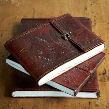 Indra Medium Leather Photo Album