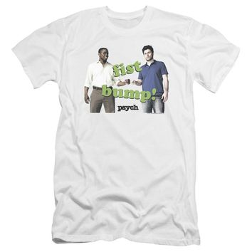 Psych - Bump It Premium Canvas Adult Slim Fit 30/1 Shirt Officially Licensed T-Shirt