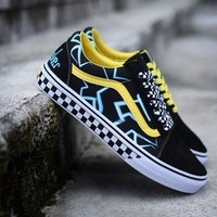 mindseeker Vans Old Skool Low Top Men Flats Shoes Canvas Sneakers Women Sport Shoes