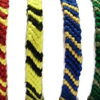 Harry Potter Inspired Friendship Bracelet Set