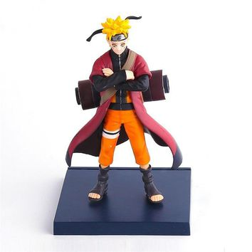 Naruto Sasauke ninja 16cm New High Quality Japanes Cartoon  PVC action figure For Christmas gifts -16 AT_81_8