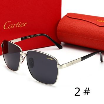 Cartier New fashion men sunglasses high quality glasses polarized sunglasses