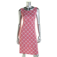 JM Collection Womens Knee-Length Sleeveless Casual Dress