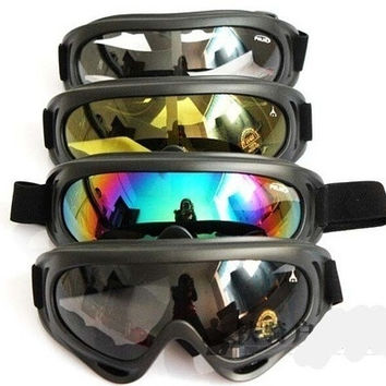 Snowmobile Bicycle Sports Ski Goggles Eyewear Protective Glasses = 5660709953
