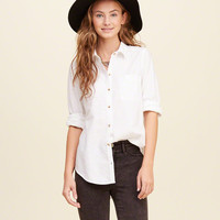Classic Slim Oxford Shirt