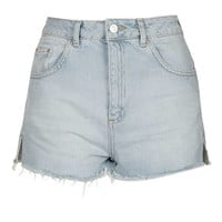 MOTO Raw Hem Mom Short - Topshop