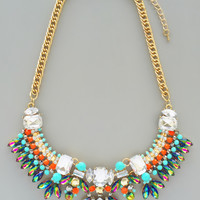 Mystic Song Statement Necklace