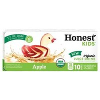 Honest Kids Fruit Punch Tetra 10pk 6oz