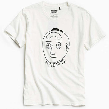 The Art Of Scribble Vacant Head Tee | Urban Outfitters