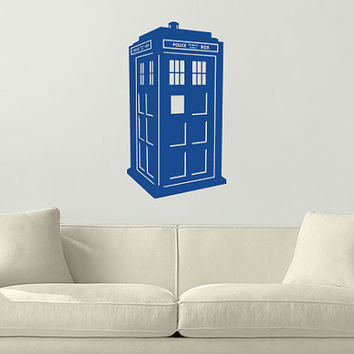 Doctor Who TARDIS Wall Vinyl Decal