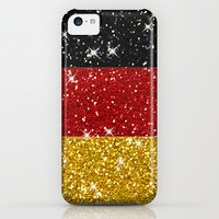 Glitters Germany Flag with Sparkles iPhone & iPod Case by Tees2go | Society6