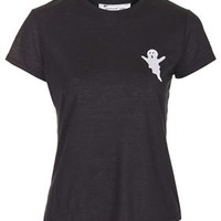 Ghost Tee By Tee And Cake - Black