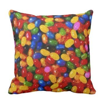 Candies Throw Pillow