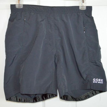 GORE Bike Wear Womens Size Small Navy Blue Shorts