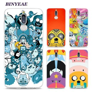 BINYEAE Adventure Time BMO Jake Style Clear Soft TPU Phone Cases for Huawei Mate 10 9 S 10Pro P8 P9 P10 Lite 2017 Mini