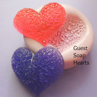 DIY Wedding Flower Heart Mold Silicone Soap Clay Resin Mould Pattern Mold