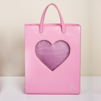 Heart Of Glass Backpack (Pink)