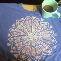 READY TO SHIP! Mandala tee - small