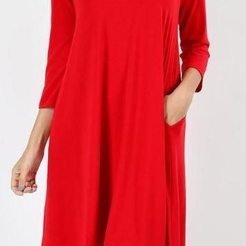 Fall Fun Dress: Ruby