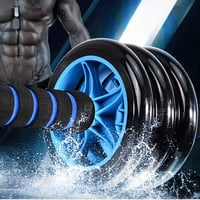 Two and Three Wheels Abdominal Muscle Roller BodyBuilding Fitness Wheel with rope