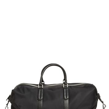 Men's Ben Minkoff 'Wythe' Nylon Duffel Bag - Black
