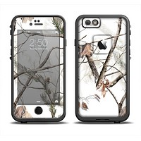 The Real Winter Camouflage Skin Set for the Apple iPhone 6 LifeProof Fre Case
