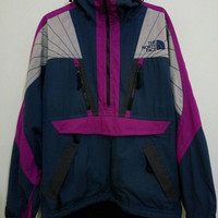 Vintage The North Face Skiwear Mogul Jacket Windbreaker size Medium excellent