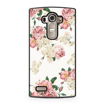 Sweet Flowers Patterns LG G4 case