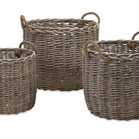Mellie Willow Baskets - Set of 3